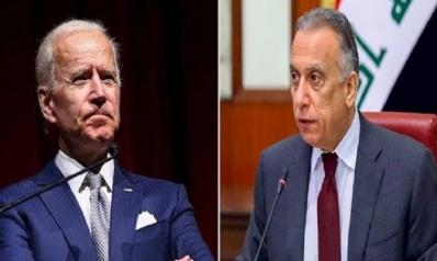 Biden Calls s Al-Kadhemi
