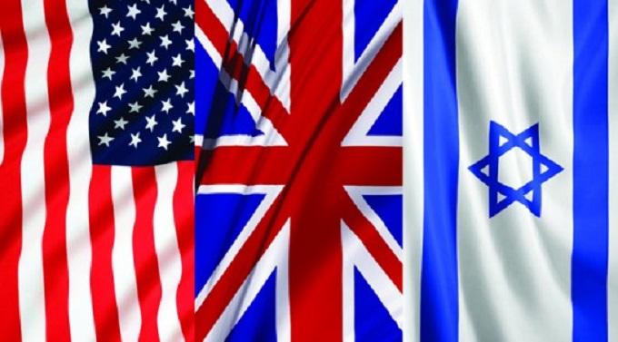 الرابط بين إسرائيل وبريطانيا وأمريكا