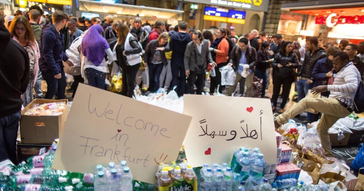 السياسة الألمانية وأزمة اللاجئين
