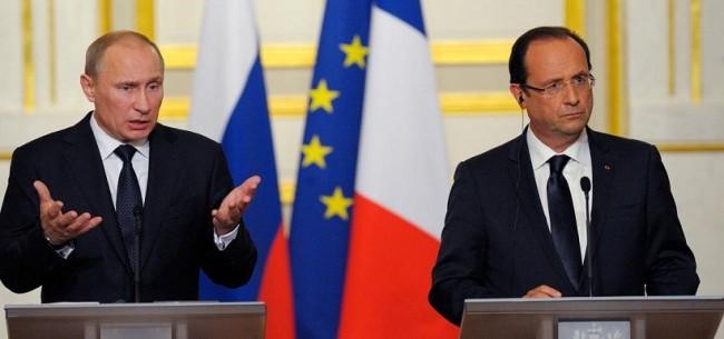 هل تؤشر زيارة هولاند لموسكو الى بزوغ مرحلة جديدة في العلاقات الروسية الفرنسية ؟