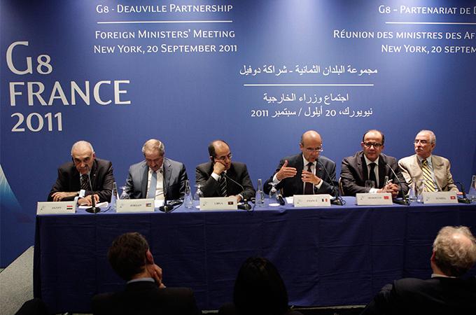 مجموعة السبعة وبلدان الربيع العربي: شراكة أم مُخاتلة استراتيجية؟