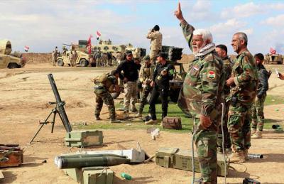 الجيش العراقي يبدأ هجوم الرمادي والعبادي وافق على إنزال قوات أمريكية