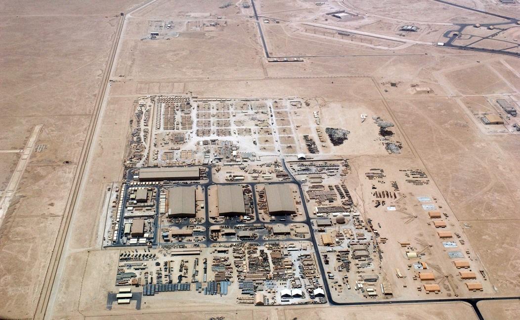 القواعد العسكرية الأمريكية في العالم العربي