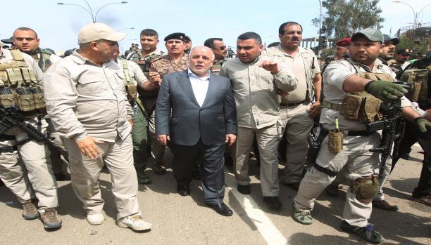 رئيس الوزراء العراقي يزور ديالى بعد إرسال تعزيزات عسكرية