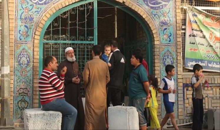 مساجد العراق مآوي الفارين من الحرب