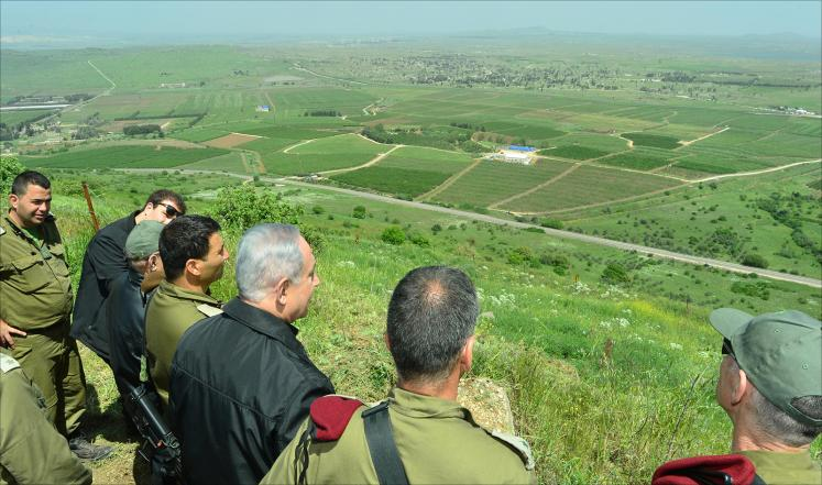 إسرائيل تستبق تقسيم سوريا بالتمسك بالجولان