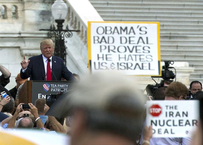 الإيرانيون يفضلون ترامب على كلينتون