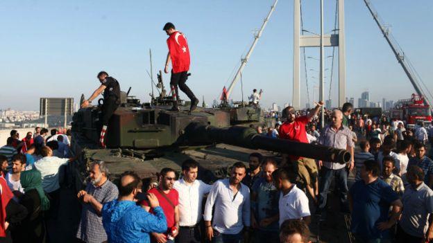 دروس انقلاب تركيا