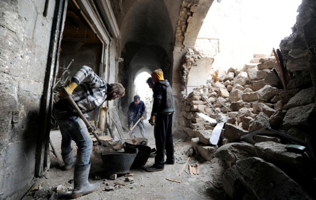 مكافحة الإرهاب وتخفيف المعاناة الإنسانية في سوريا