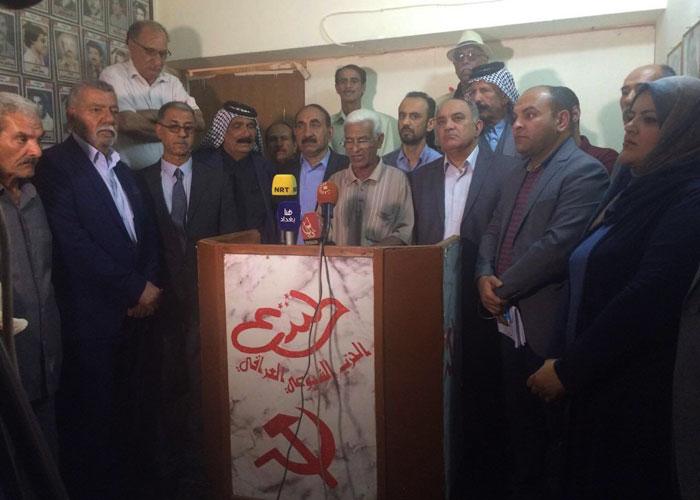 تفجير مقر الحزب الشيوعي استعراض لقوة الميليشيات في العراق