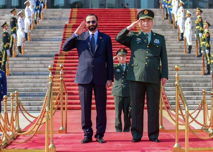 الإمارات تنوع الشركاء بتعاون عسكري مع الصين