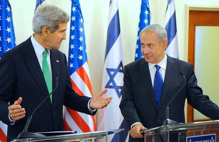 نتنياهو طلب من إدارة أوباما خلال مفاوضات 2014 الإبقاء على مستوطنين في الدولة الفلسطينية وتراجع بضغط من بنيت