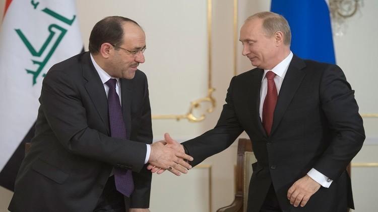 المالكي في موسكو بحثا عن تعزيز الدور الروسي في العراق والمنطقة