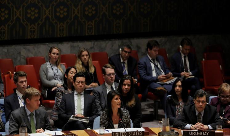 مجلس الأمن يدين بالإجماع تجربة الصاروخ الكوري الشمالي