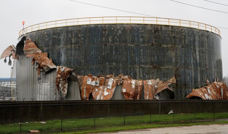 42 مليار دولار خسائر الإعصار هارفي بتكساس