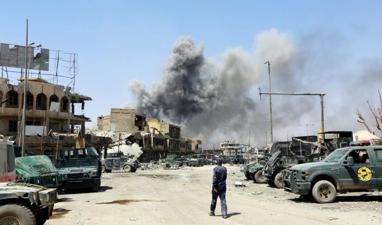 العبادي: 1260 مدنيا قتلوا خلال معركة الموصل