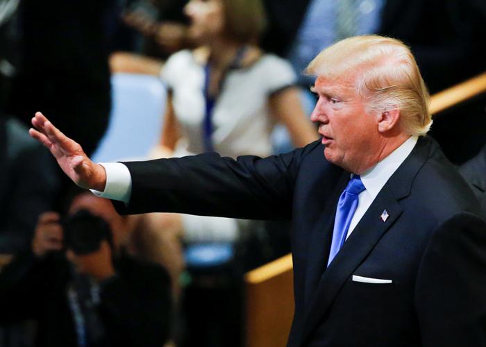 ترامب يبلّغ العالم مجددا: أميركا أولا