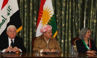 حكومة بغداد تستعين بسليماني للضغط على البارزاني