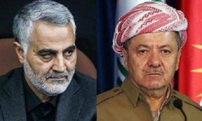 غلبت إيران الكرد… فهل تعوّم واشنطن بارزاني؟