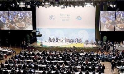 مدينة بون الألمانية تحتضن قمة المناخ العالمي «كوب 23» وانتقاد لسياسات ترامب