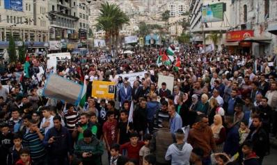 """""""فليسقط وعد بلفور"""" غضب فلسطيني بذكراه المئة"""
