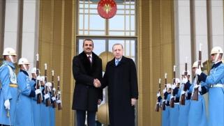 أمير قطر يختتم زيارة لتركيا