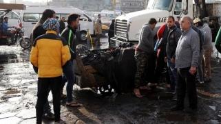العبادي يجتمع بقيادات أمنية بعد تفجير دام ببغداد