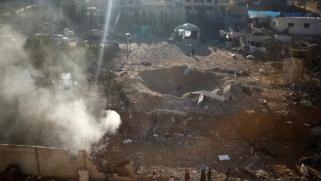 قصف إسرائيلي جنوبي غزة