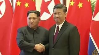زعيم كوريا الشمالية يتعهد من بكين بنزع السلاح النووي