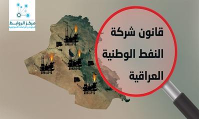 قانون شركة النفط الوطنية  العراقية بين الرفض والقبول
