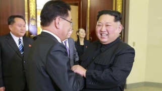 زعيم كوريا الشمالية يهنئ الزعيم الصيني على إعادة انتخابه رئيساً للبلاد
