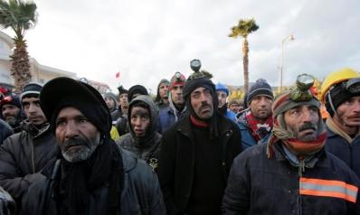 معتقلون وجرحى بتصاعد الاحتجاجات في جرادة