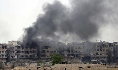 سقوط إيرانيون في قصف صاروخي على سوريا