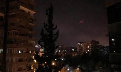 هجوم أميركي بريطاني فرنسي على مواقع بسوريا