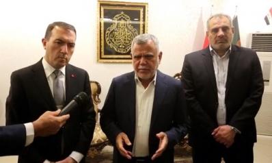 العامري بعد لقائه السفير التركي: تم طمأنتنا ببذل تركيا جهدهم لحل موضوع المياه