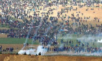 غزة هنا -ولن تذهب إلى أي مكان