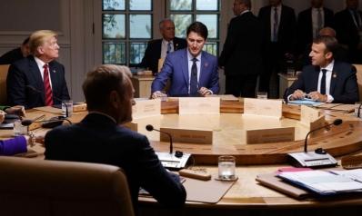توتر أوروبي ـ أميركي في قمة مجموعة السبع