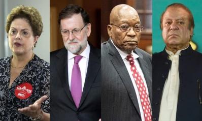 الفساد أطاح بزعماء 21 دولة في خمس سنوات