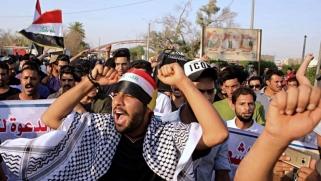توقعات باشتداد التظاهرات بعد تشكيل الحكومة الجديدة في العراق