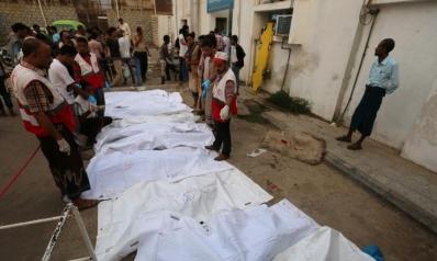 عشرات القتلى والجرحى بغارات للتحالف على الحديدة
