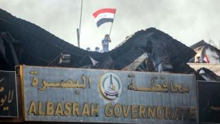 هجوم صاروخي قرب مطار البصرة