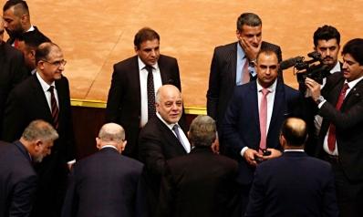 حشد العبادي أمام حشد المالكي والأكراد بيضة القبان