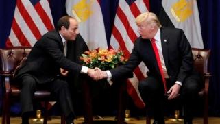 ترمب يشيد بالجهود المصرية في التصدي للإرهاب