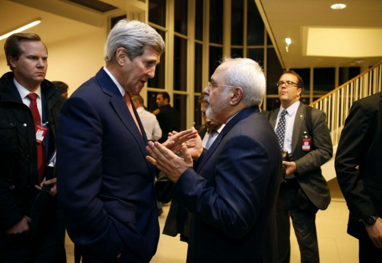 Kerry and Zarifs meetings anger the US administration