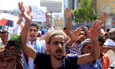 """""""ثورة جياع"""" ضد الحوثيين في صنعاء"""