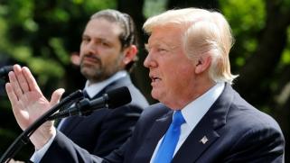 ترامب يدعم الحريري في مواجهة حزب الله