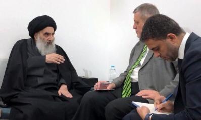 السيستاني: ننتظر لنرى ماذا تحقق حكومة عادل عبدالمهدي