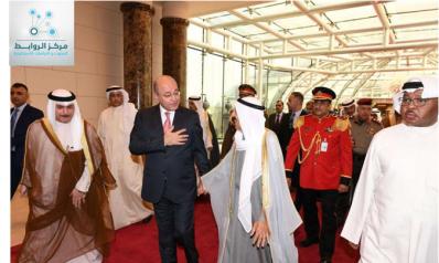 من الكويت: يبدأ الرئيس العراقي برهم صالح جولته الخليجية