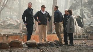 ترامب في كاليفورنيا لمعاينة أضرار أكبر حريق بتاريخ الولاية