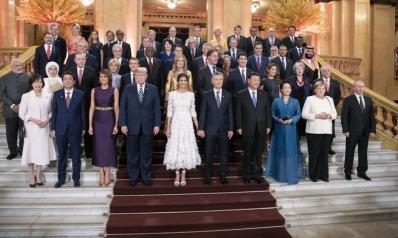في تسع لقطات.. أبرز مشاهد قمة العشرين بالأرجنتين